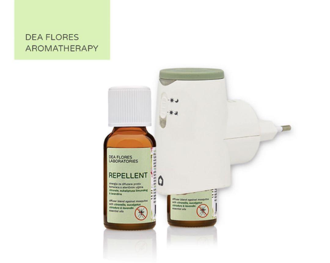 Dea Flores Plugia ultrazvučni mini difuzer + Repellent