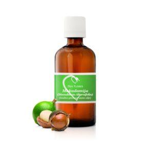 Dea Flores Makadamija hladno prešano bazno ulje hidrolat