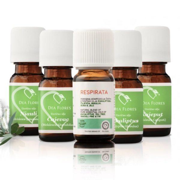 Dea Flores eterična ulja i Respirata